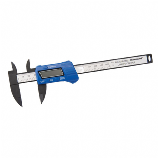 Silverline 677256 Composite Digital Vernier Caliper